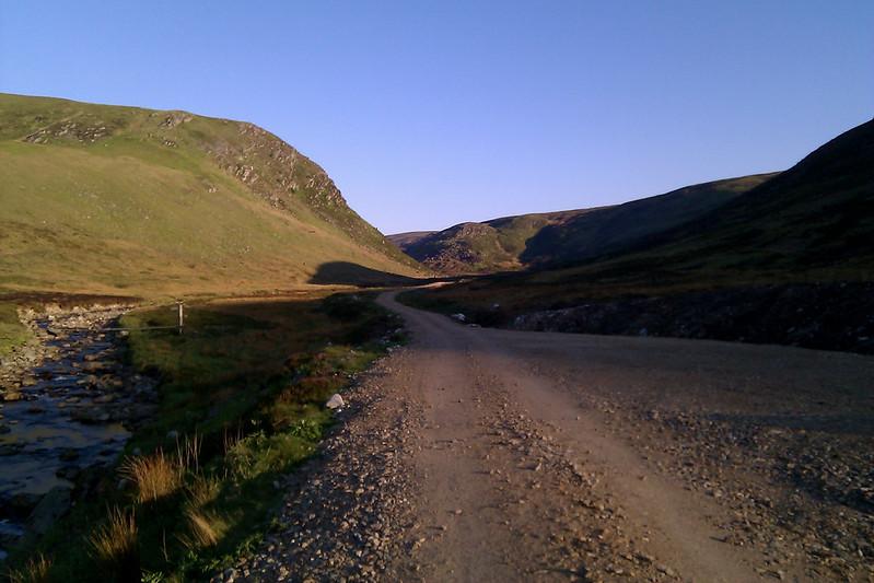The track through Glen Lethnot
