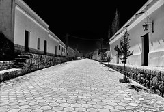 Streets of Cachi, Argentina (Rod Waddington) Tags: street white black argentina architecture america south colonial cobbles cachi