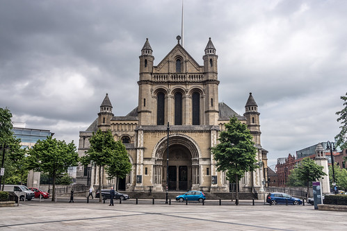 St Anne's Cathedral, also known as Belfast Cathedral