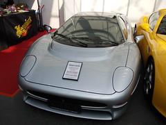 Jaguar XJ 220 1993 -1- (Zappadong) Tags: essen 1993 techno jaguar 2012 220 xj classica