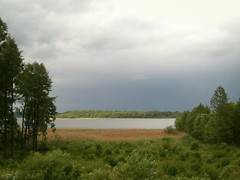 The Sun And The Rainfall (lemmingby) Tags: lake water weather travels trips belarus roseta braslav otherwheres braslavlakes rosetamansion drivyaty