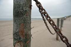 BOUNDARIES (DESPITE STRAIGHT LINES) Tags: wood morning sea england beach wet water sign metal sunrise coast wooden chains seaside am sand nikon rust waves post sandy tide shoreline cambersands wave chain coastal shore rusted windswept owned land marker weathered footsteps coastline rusting boundary tidal eastsussex corrosion boundaries saltwater divide chained camber limits corrosive rustychain degradation rustedmetal cambersandsbeach rustedchain d700 nikon2470mm nikond700 nikongp1 ilobsterit