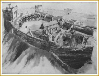 Nottingham Castle - Drawing