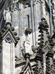 Sint Jan Kathedraal, Den Bosch / Sint John's Cathedral, Den Bosch  - (laatste serie/ last series) (dietmut) Tags: church angel worship cathedral nederland thenetherlands april engel denbosch kerk brabant stjohnscathedral 2012 kathedraal shertogenbosch religie panasoniclumix dmcfx500 withmobile dietmut metmobiel sintjankathedraal