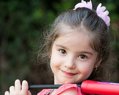 5845 (E.L.A) Tags: people cute childhood smiling horizontal closeup turkey outdoors photography holding day child content happiness istanbul innocence sideview oneperson headandshoulders casualclothing colorimage 45years caucasianethnicity childrenonly focusonforeground onegirlonly