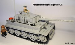 Panzerkampfwagen Tiger Ausf. E WWII LEGO (MR. Jens) Tags: world two war tank lego tiger wwii ww2 production late