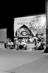 Gamelan (made darma) Tags: blackandwhite bw festival analog dance traditional developed praya push800 ilfordhp5400 nikonfm2n filmkamera lombokindonesia micromf acifix nikkor5mmf14ais