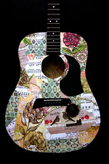Guitar design (nisswa_mike) Tags: arizona music color art phoenix canon fun play artistic guitar awesome surprise