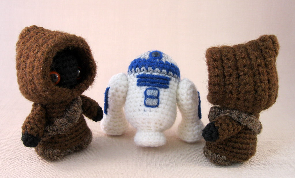 Amigurumi R2d2 Pattern : The Worlds Best Photos of crochet and r2d2 - Flickr Hive Mind