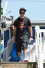 Vinny Guadagnino out and about on location for filming for 'Jersey Shore' in Seaside Heights. Seaside Heights, USA