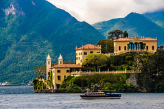 Villa del Balbianello on Lake Como Italy (mbell1975) Tags: italy mountain lake como mountains alps del de lago see italian italia day cloudy lac palace villa di palais comer lombardia côme lenno balbianello ilobsterit