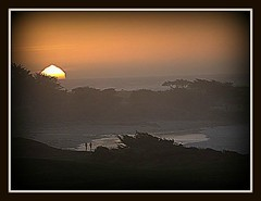 Sunset at Pebble Beach (llantz) Tags: california sunset beach pacificocean pebblebeach thegalaxy newacademy ringofexcellence dblringexcellence tplringexcellence chariotsofartists rememberthatmomentlevel1 rememberthatmomentlevel2 rememberthatmomentlevel3