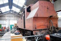 Ivatt 2-6-2 tank locomotive no. 41313 in store at Havenstreet (Kentishman) Tags: nikon tank engine railway hampshire steam isleofwight locomotive 262t havenstreet ivatt d80 41313 dsc6203 afsdxzoomnikkor18135mmf3556gifed