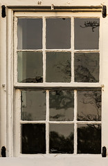 window and reflections (doddsjzi) Tags: distortion window reflections photo charlestonsc oldwindow distortedglass