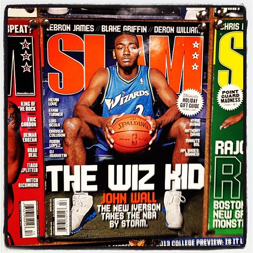 And yes, the John Wall SLAM cover. Glad he won't be the next Iverson... #Wizards.