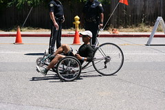 Bike People of Silicon Valley Bicycle Festival 2016 (Richard Masoner / Cyclelicious) Tags: cycling tricycle sanjose bikes bicycles trike recumbent tadpole kelleypark orangeflag historysanjose safetyflag siliconvalleybicyclefestival
