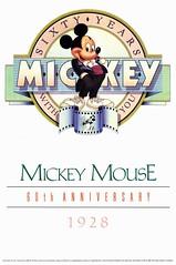 Mickey Mouse 60mo Aniversario (Afiche Oficial) (1988) (hernnpatriciovegaberardi (1)) Tags: las en aniversario poster mouse official with you anniversary 1988 disney mickey mickeymouse years oficial 60 60th afiche sixty brillos aos contigo mejillas