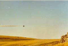 An Argentinian Skyhawk getting hit by British fire from the San Carlos beachhead during the Falklands War, May 1982 [800x543] #HistoryPorn #history #retro http://ift.tt/1YWMLwU (Histolines) Tags: from history by fire during 1982 hit san war may carlos an retro timeline getting british falklands skyhawk argentinian beachhead vinatage historyporn histolines 800x543 httpifttt1ywmlwu