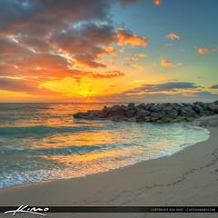 Haulover Park Florida Beach at Sunrise (Captain Kimo) Tags: beach sunrise florida miami photomatixpro hdrsoft hdrphotography miamidadecounty hauloverpark hauloverinlet captainkimo