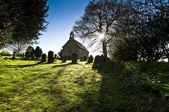 I have seen the light (Through Bri`s Lens) Tags: wet sussex stones graves morningdew wiston cemmetary brianspicer canon5dmk3 bunctonchurch canon1635f4