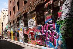 (Emily Mary.) Tags: city travel nature landscape outdoors graffiti nikon australia melbourne adventure explore backpacking