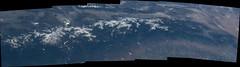 Southern Sierra Nevada (sjrankin) Tags: california panorama snow northerncalifornia edited nasa yosemitenationalpark monolake sierranevada iss yosemitevalley centralvalley centralcalifornia greatbasin mercedriver hetchhetchyreservoir iss047 28may2016 iss047e126039 iss047e126040 iss047e126041 iss047e126042