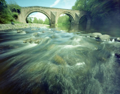 By River Ayr (wheehamx) Tags: river stair angle wide pinhole ayr