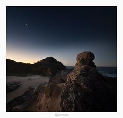 Nambucca Heads nsw 2448 (marcel.rodrigue) Tags: seascape photography nightscape australia nsw newsouthwales nambuccaheads nambucca midnorthcoast wellingtonrock marcelrodrigue