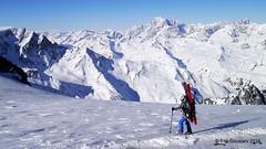 Day 3: The scenic viewpoint that is Plateau du Couloir. (Erik.G.) Tags: zermatt chamonix skitouring skitour hauteroute valsorey plateauducouloir