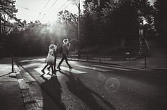 There is something Fairy in Lyon (Ronan Siri Photography / @:ronan.sirim@gmail.com) Tags: street city light sunset urban bw canon eos noir lyon noiretblanc explore fairy dslr et extrieur blanc 1635mm 5dmarkiii ronansiri