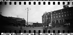20160404-DSC_8753 (sarajoelsson) Tags: city urban blackandwhite bw panorama film monochrome 35mm gteborg march sweden gothenburg toycamera wideangle panoramic hp5 135 ilford everydaylife 2016 plasticlens filmphotography sprocketholes filmisnotdead filmshooter teamframkallning sprocketrocket believeinfilm digitizedwithdslr
