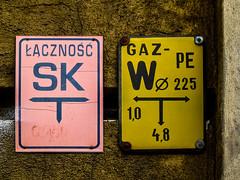 Wrocaw (isoglosse) Tags: sign poland polska schild polen sansserif wrocaw breslau znak ogonek kreska u0141
