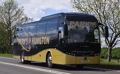LSK614  Parks, Hamilton (highlandreiver) Tags: bus coach glasgow hamilton parks coaches strathclyde jonckheere lsk lanarkshire 614 a66 lsk614