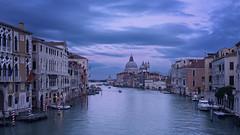 Sunset from Venice (Danilo Ravasi) Tags: city travel venice sunset italy italia tramonto cityscape venezia viaggi exposureblending citt