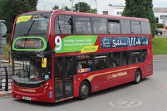 National Express West Midlands Alexander Dennis Enviro400 MMC 6107 (SN15 LFR) (Pensnett) 'Dakota' (john-s-91) Tags: stourbridge route9 6107 islamicrelief nationalexpresswestmidlands alexanderdennisenviro400mmc sn15lfr
