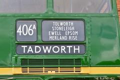 RM2 SLT57 (PD3.) Tags: 2 bus london buses museum vintage coach transport surrey trust routemaster preserved slt 57 preservation psv pcv brooklands rm 2016 aec rm2 lbpt slt57 cobhaml