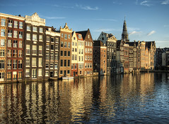 Amsterdam buildings (neilalderney123) Tags: amsterdam architecture reflections olympus 2016neilhoward 2016neilhoward