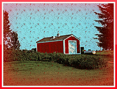 HSS! THE LITTLE RED BARN (Visual Images1) Tags: red barn hss slidersunday ipiccy