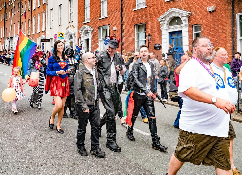 PRIDE PARADE AND FESTIVAL [DUBLIN 2016]-118149