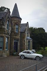 rainy Glasgow 17 (route9autos.co.uk) Tags: street classic car vintage scotland glasgow rubber mg spots bumper spotted gt mgb