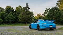 Riviera. (Jon Wheel) Tags: sports car 911 exotic porsche 991 gt3 marshcreek rivierablue