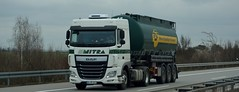 D - Schmidt >Mitra MST< DAF XF 106.440 SC (BonsaiTruck) Tags: truck silo 106 lorry camion trucks schmidt mst bulk lastwagen daf lorries lkw mitra xf ffb citerne lastzug silozug feldbinder powdertank