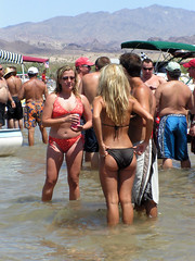 Pict4310 (Ronald D Morrison) Tags: beautiful springbreak topless coloradoriver seminude bikinis collegegirls bikinibabes