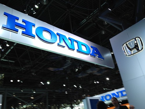 Honda Cars @ the 2012 New York International Auto Show