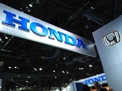 Honda Cars @ the 2012 New York International Auto Show
