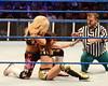 Natalya, AJ, Hornswoggle WWE Smack Down at the O2 Arena Dublin, Ireland