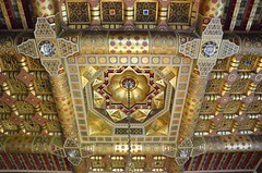 107 Cardiff Castle (Mark Baker.) Tags: uk wales gold photo apartments baker mark cardiff ceiling photograph ornate 2012 cardiffcastle picsmark