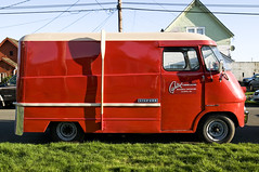 Chevrolet Step-Van (Curtis Gregory Perry) Tags: red chevrolet washington panel capital plumbing 1966 chevy 1958 1957 delivery 20 van 1962 heating 1961 1964 1959 1965 1963 1960 stepvan p20 hoquiam