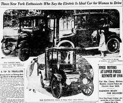1915  Electric is the Ideal Car for Women to Drive (carlylehold) Tags: opportunity woman robert girl car fashion electric mobile lady early automobile email smartphone join motor tmobile keeper motorcar signup haefner carlylehold solavei haefnerwirelessgmailcom