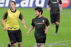 Training session at Camp Nou (A.C. Milan) Tags: barcelona pato acmilan campnou barcellona ibra allegri